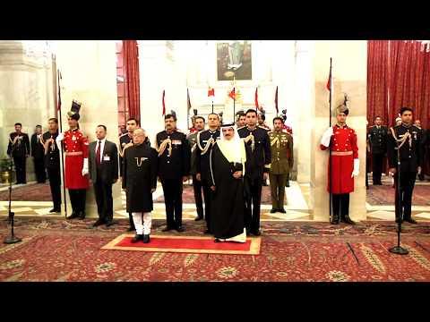 King Hamad Bin Isa Al-Khalifa of Kingdom of Bahrain called on President Mukherjee