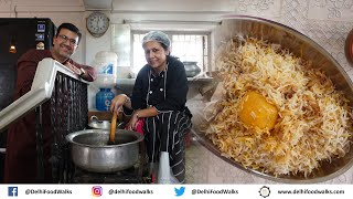 WORLD Famous KOLKATA Home STYLE Chicken BIRYANI with Star ALOO  Cooking &amp Eating with Chef Manzilat
