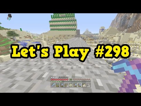 Minecraft Xbox Let's Play #298 - Preparing For Concrete