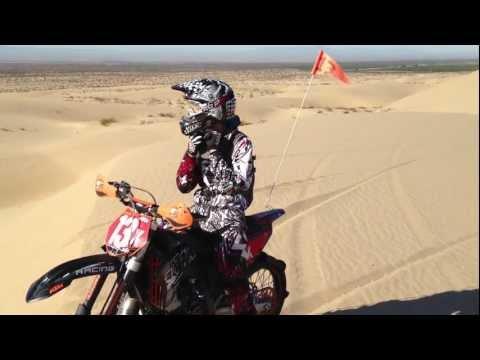 Imperial Sand Dunes - KTM flying