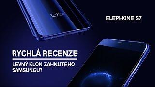 Elephone S7 | česká recenze | levný výkonný smartphone se zakřivenou obrazovkou