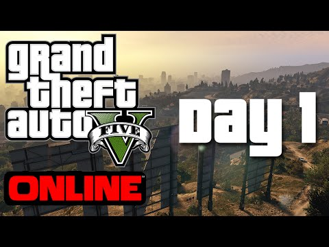 GTA V: Day 1 | Character Creation and Setup | Grand Theft Auto Online PC