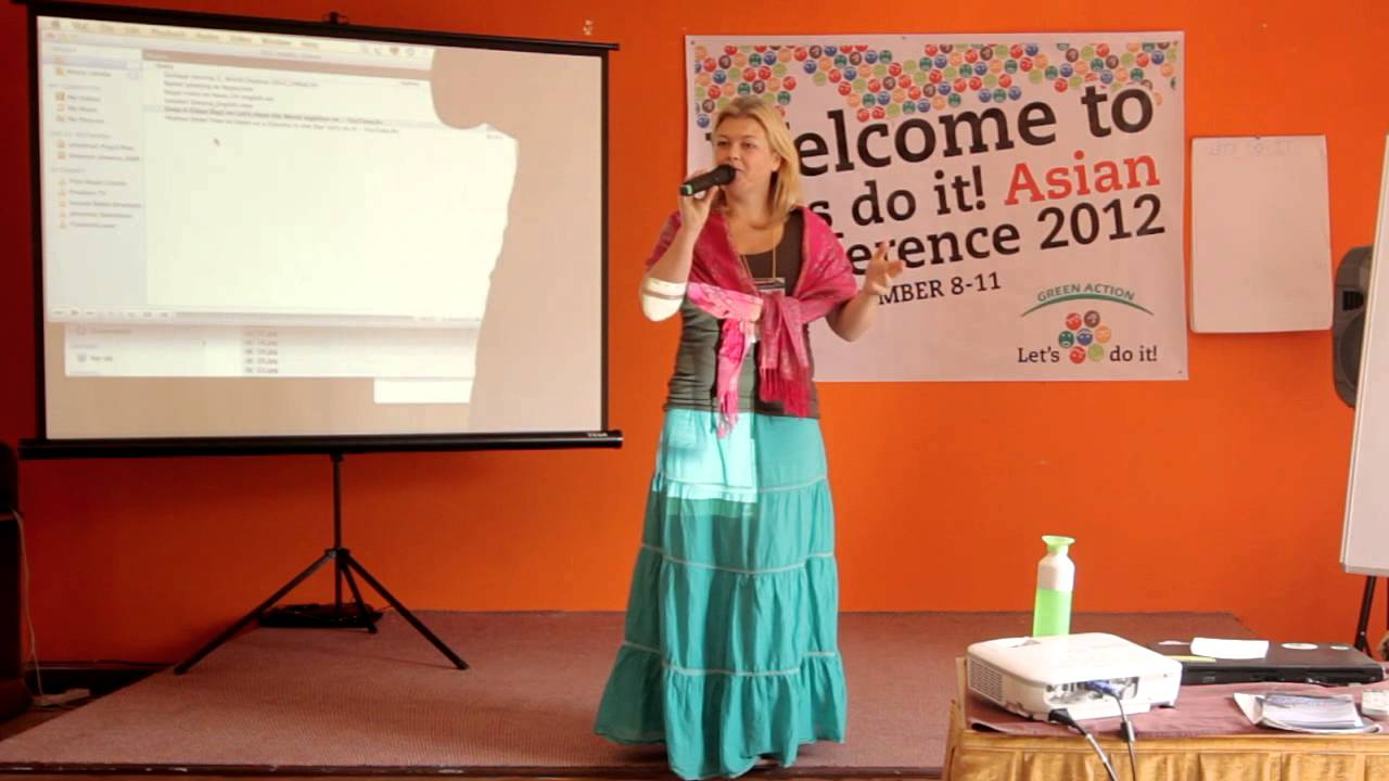Conference in Nepal - Annette Dölle - Netherlands Cleanup