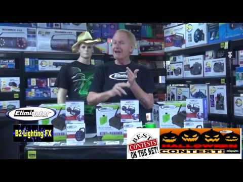 CLOSED Halloween Contest Winners for some Great Eliminator Lights! and More B2DJ