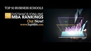 QS Distance / Online MBA Ranking 2014