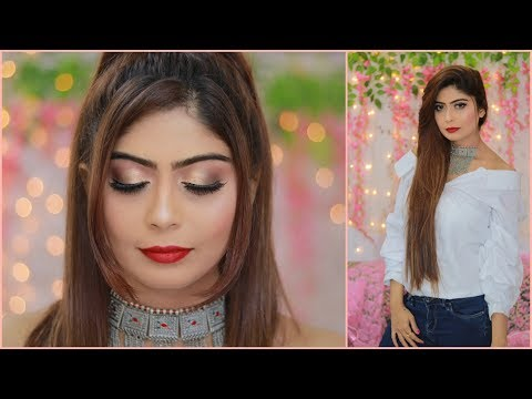 Complete Makeup for Beginners - Glam Sexy Makeup Tutorial | Rinkal soni thumbnail