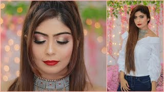 Complete Makeup for Beginners - Glam Sexy Makeup Tutorial | Rinkal soni