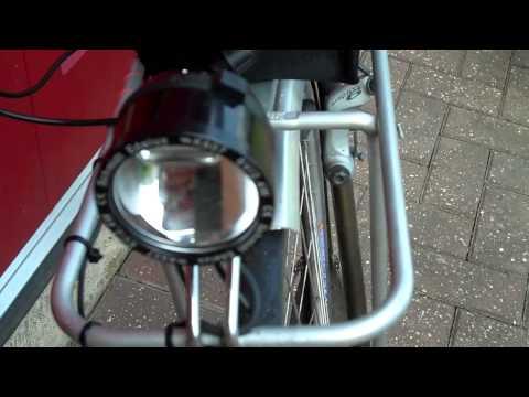 Bike Dynamo lighting and B&M e Werk