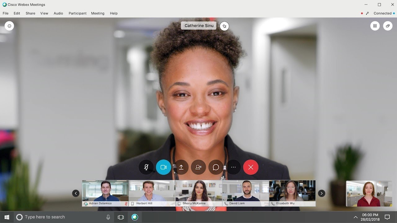All-New Cisco Webex Meetings Video Conferencing - YouTube
