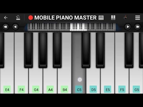 Aankhon Mein Aansoo Leke Piano Tutorial|Piano Keyboard|Piano Lessons|Piano Music|learn piano Online