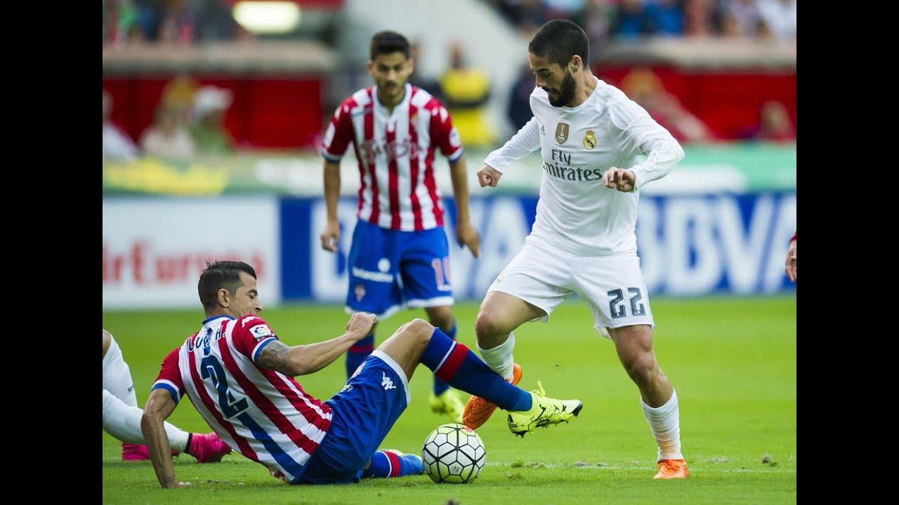 Isco vs Sporting Gijon | Real Madrid vs Sporting Gijon|5-1| La Liga 2015/16