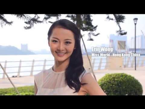HONG KONG CHINA, Erin Wong - Contestant Introduction: Miss