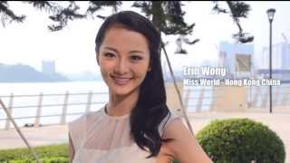 HONG KONG CHINA, Erin Wong - Contestant Introduction: Miss World 2014
