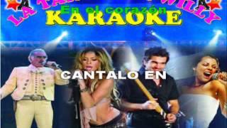 karaoke -enamorada - tania de venezuela-
