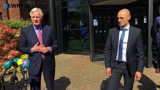 Michel Barnier visits Newry