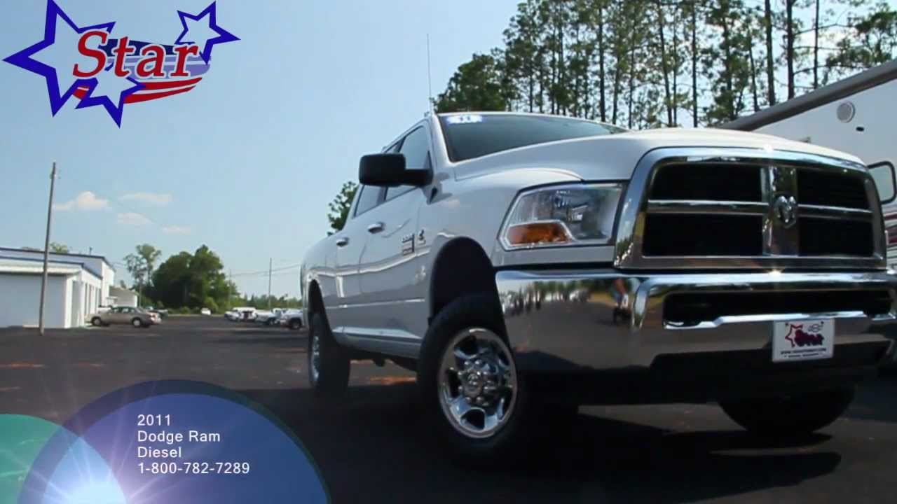 Star Chevrolet Wiggins, MS  2011 Dodge Ram Diesel 2500