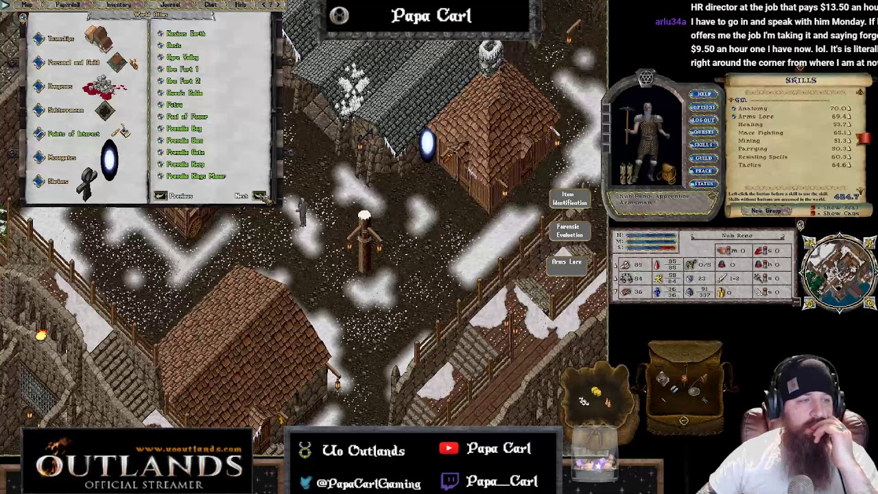 UO Outlands! Mining time Part 2!