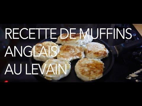 recette-muffins-anglais-au-levain