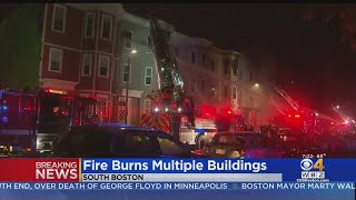 South Boston Fire Injures 5 Firefighters, Leaves 38 Displaced