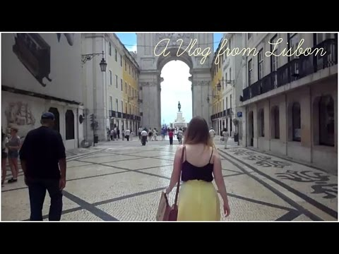 A Vlog from Lisbon | Katie Charlotte Blogs