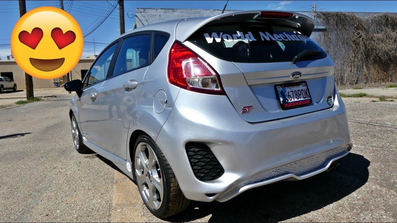 Ford Fiesta St Custom Bumper Part 4 Youtube