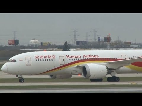 Hainan Airlines completes first cross-ocean flight using biofuel