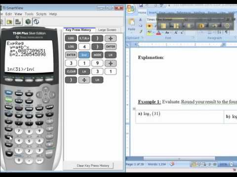 Ch 5 - Part 1 of 1 - Math 131 TI-83/84