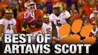 Clemson Football: Artavis Scott