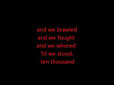Motörhead - 1916.wmv (with lyrics)