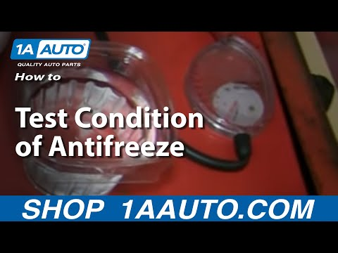 How to Test Condition of Antifreeze - Freezing & Boiling Points