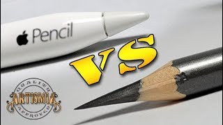 - Apple Pencil VS A Real Pencil Artismia Drawing iPad Pro Paper by 53