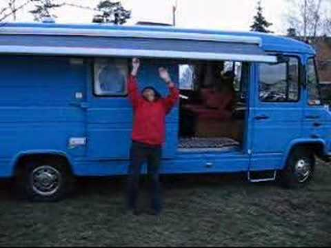 1980 mercedes benz l608d camper youtube for Mercedes benz camper for sale