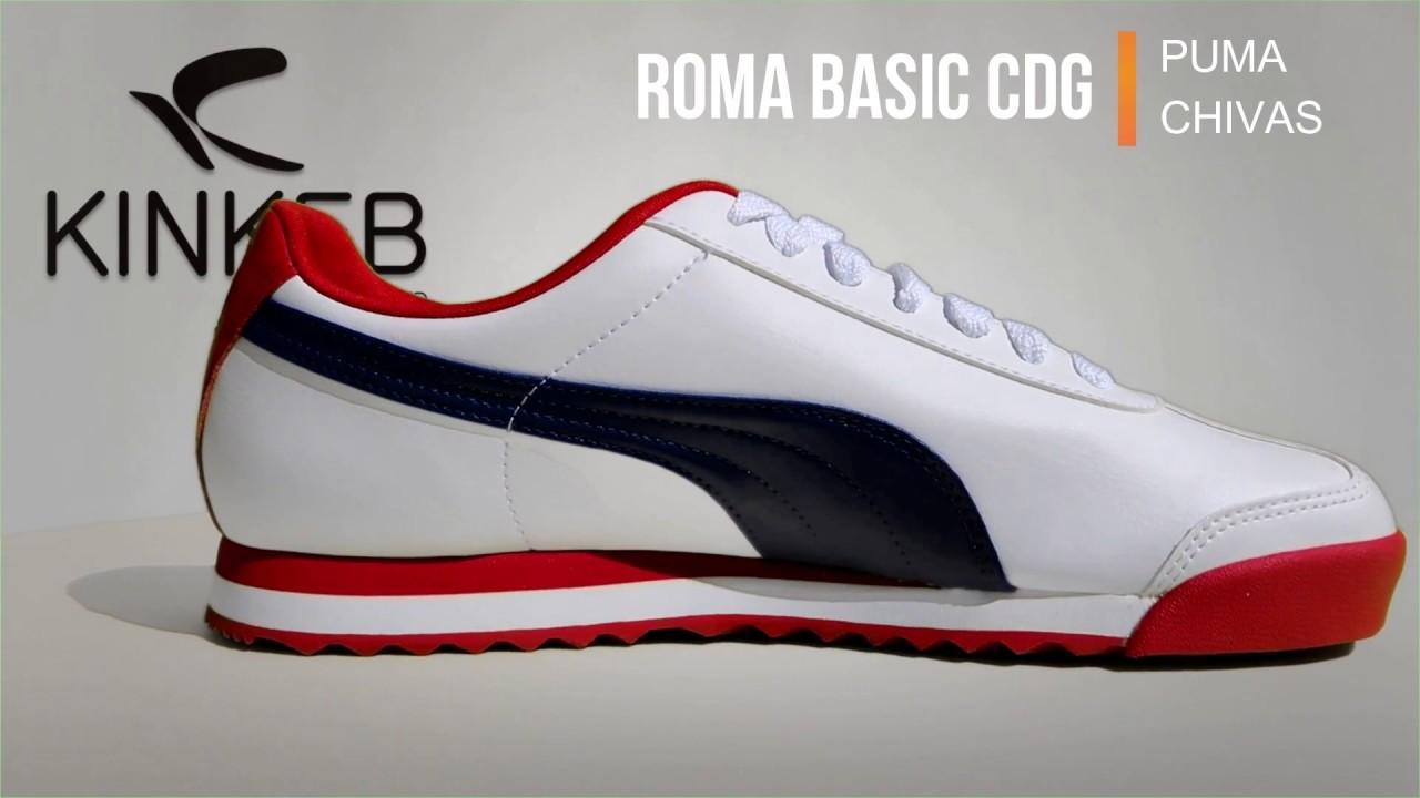 6a750488f9f838 Youtube Cdg Roma Puma Puma Roma Basic Xq47pIw