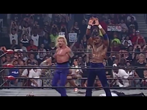 Karl Malone & Diamond Dallas Page vs. Dennis Rodman & Hulk Hogan: Bash at the Beach 1998