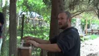 סדנה לבניית ערוגה ממשטחי עץ, חלק א'