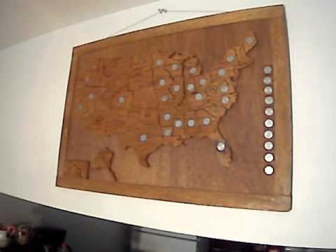 50 state quarters map