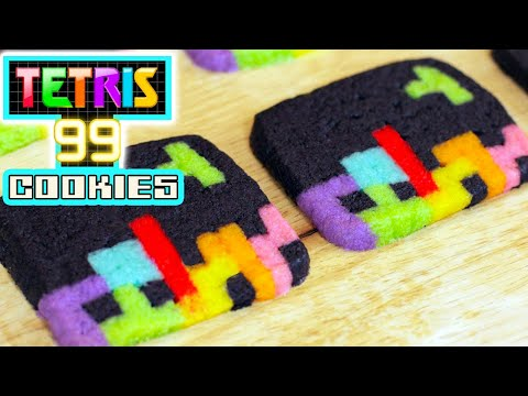 Make HOW TO MAKE TETRIS COOKIES - NERDY NUMMIES Pics