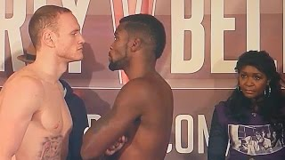 SKY SPORTS GROVES VS DOUGLIN WEIGH IN RESULTS 11/21/14! GEORGE STILL WHINGING! DIRRELL IN MARCH?