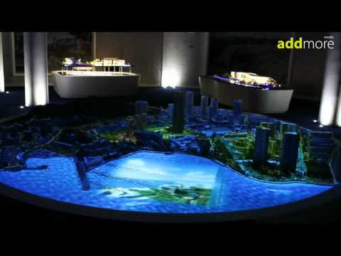 Animated Projection Physical Model by addmore