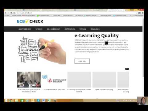 E-learning UNOG