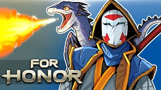 For Honor - Releasing dragons on friends! Friendly 2v2 matches!