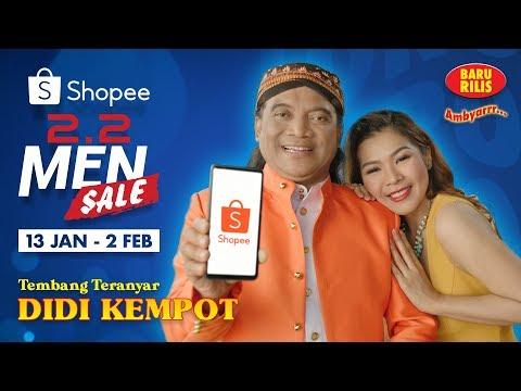 Shopee 2.2 Men Sale Bersama Didi Kempot!