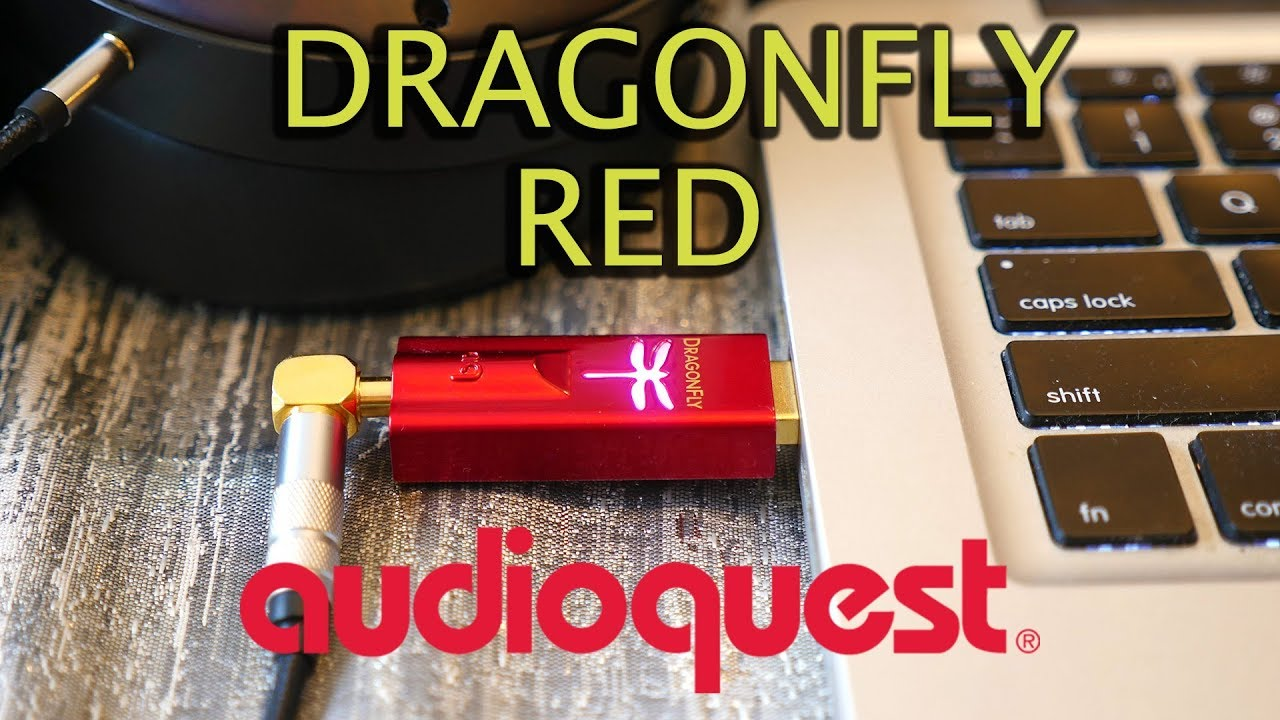 a8afdd9570c Audioquest Dragonfly Red REVIEW 2018 - Portable USB DAC/Amp - YouTube