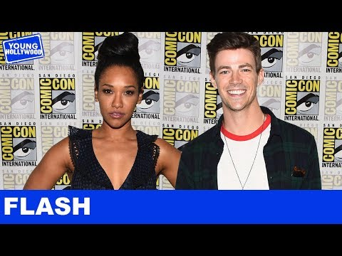 The Flash Tattoos With Grant Gustin, Candice Patton, & the Cast at ComicCon!