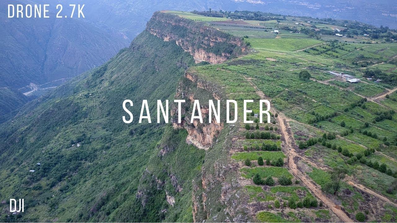 Santander, Colombia - DJI Mavic Pro - YouTube