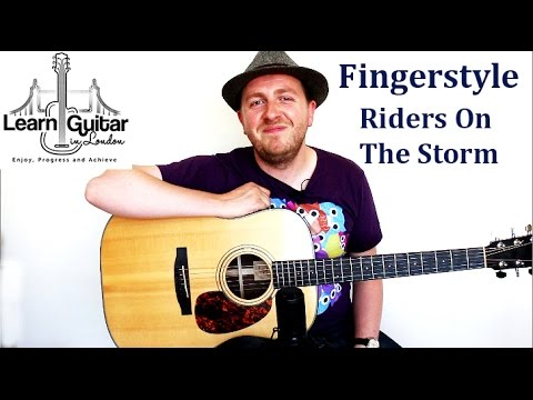 Riders On The Storm Fingerstyle Guitar Lesson The