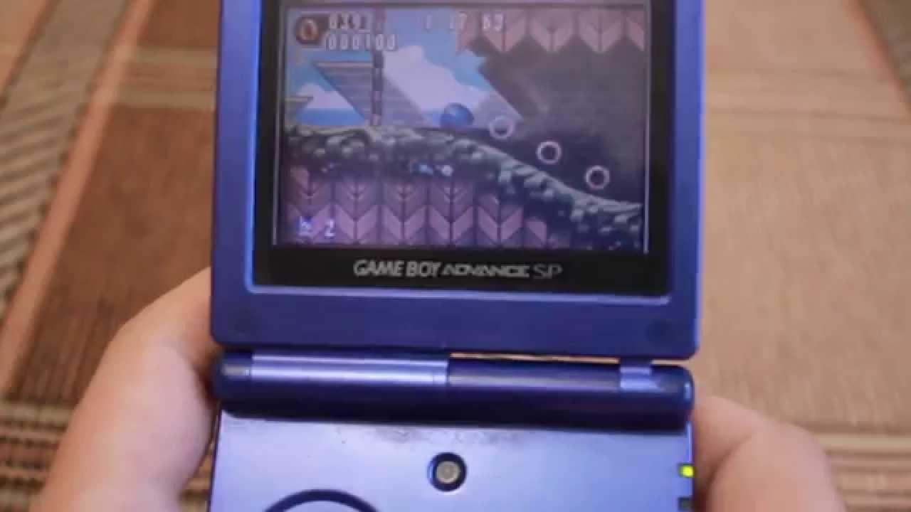 Распаковка и обзор Game Boy Advance Sp (оригинал) - YouTube
