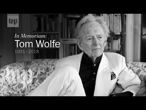 Remembering Tom Wolfe, author of 'The Right Stuff'