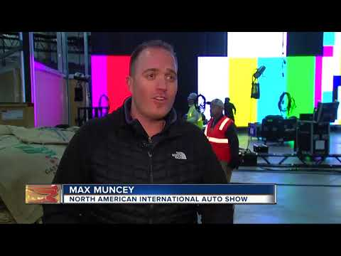 Behind the scenes at the North American international Auto Show