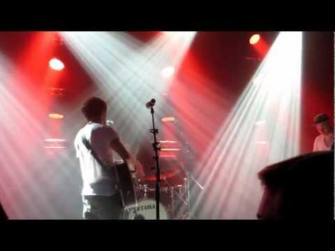 Max Giesinger - Wenn alles verstummt; Live @ Rock Shop Party Karlsruhe 19.5.2012